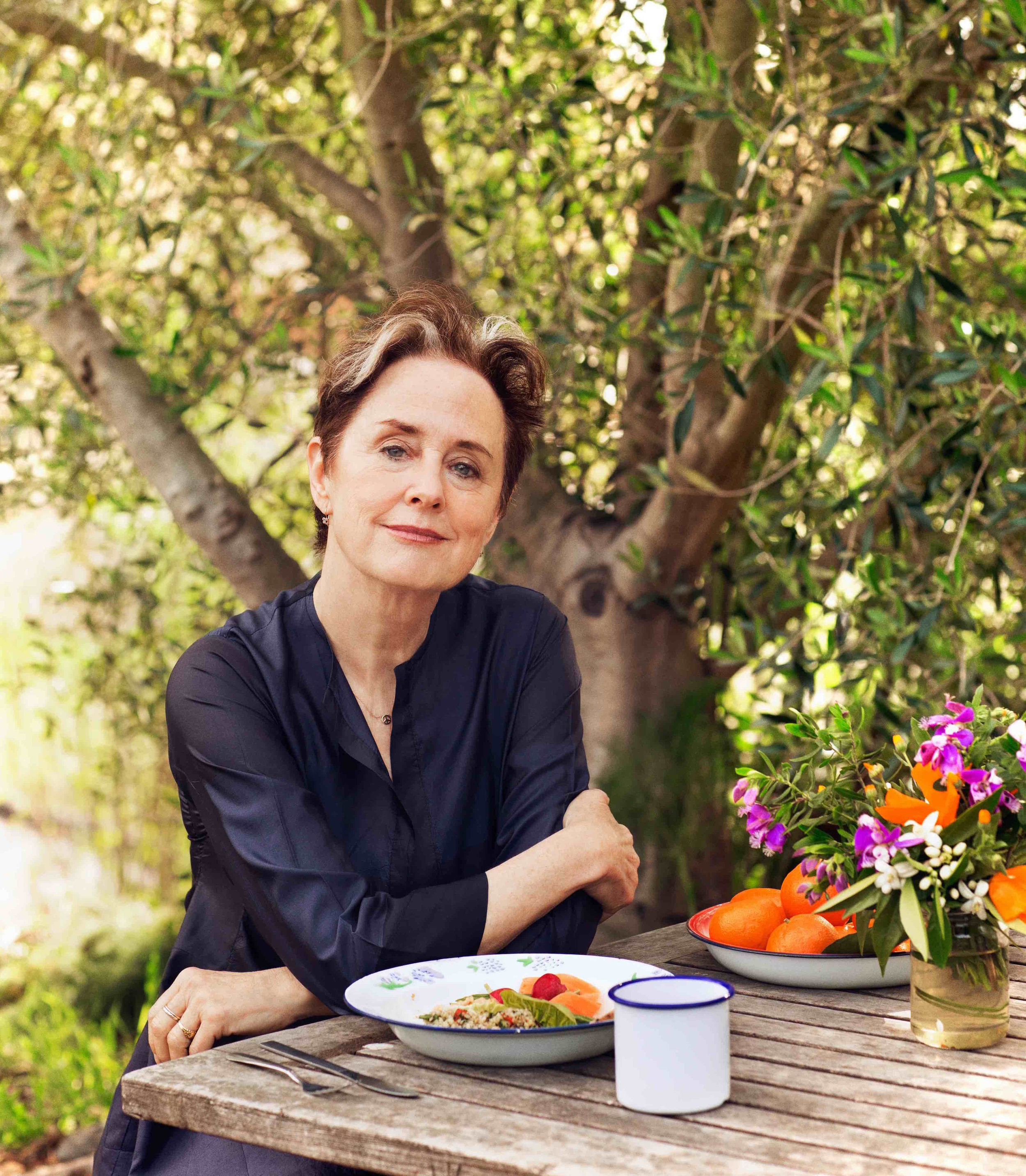 Alice Waters - First woman to win the James Beard Award for Outstanding Chef