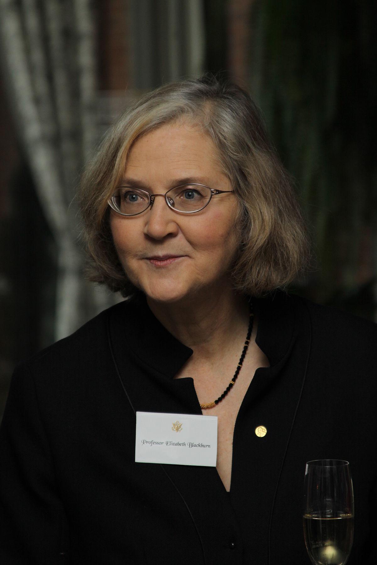 Elizabeth Blackburn - First female president of the Salk Institute, Nobel prize winner in biology