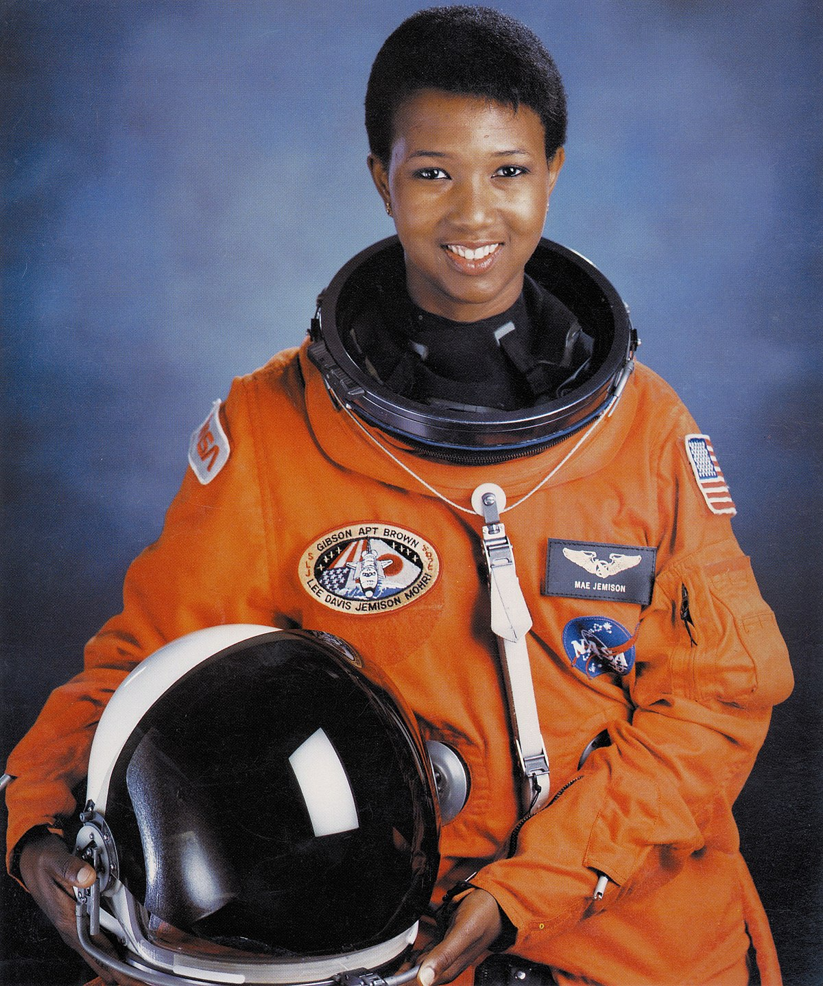 Mae Jemison - First African American woman in space