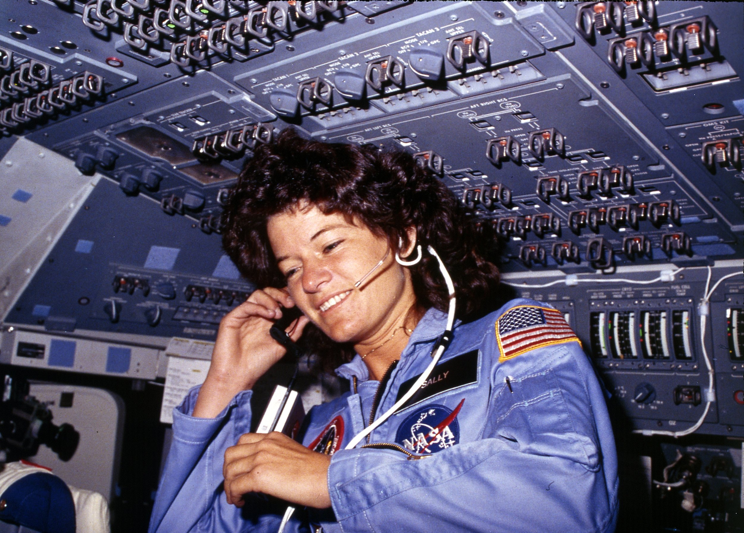 Sally Ride - First American woman in space