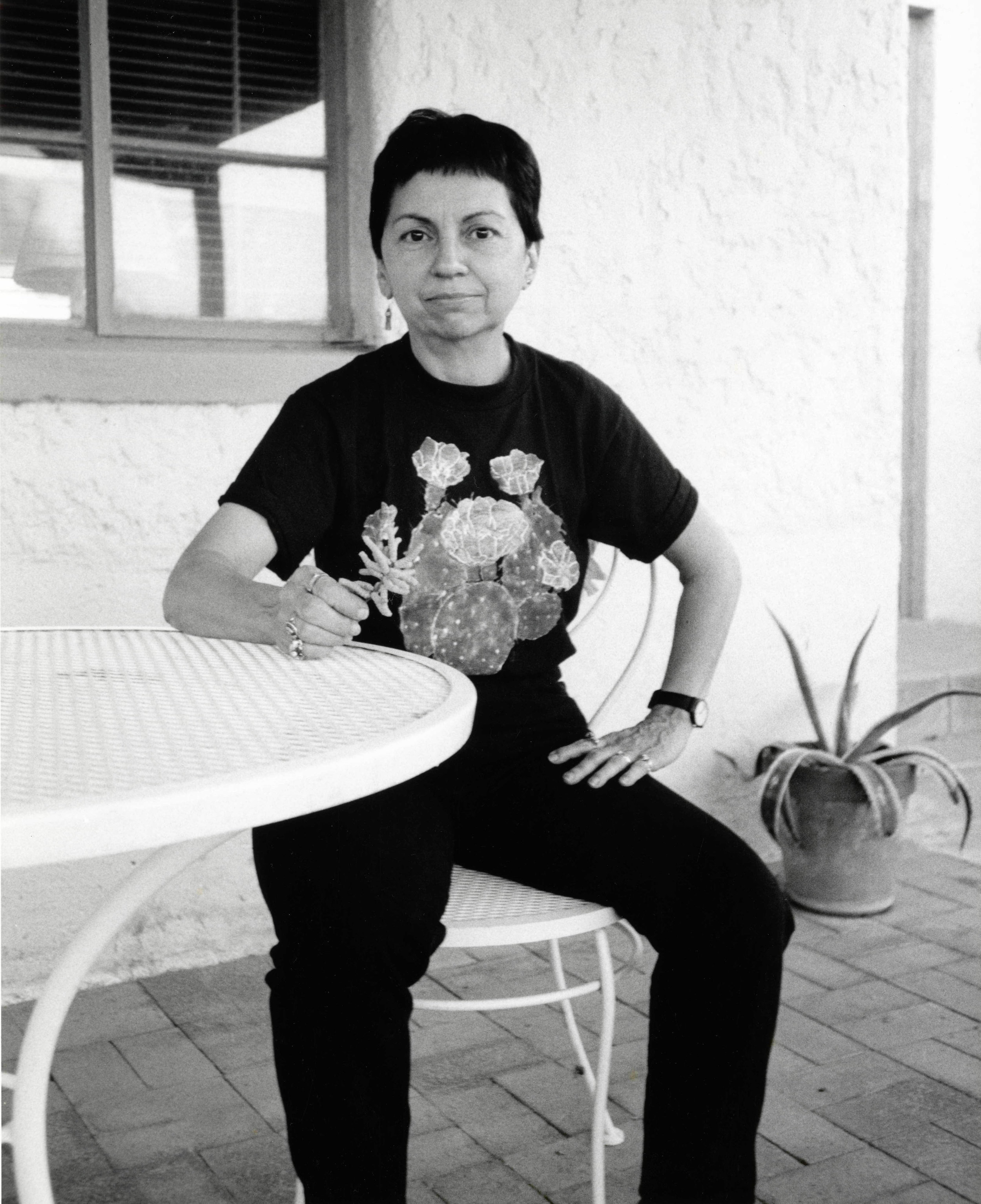 Gloria Anzaldúa - Novelist and scholar of Chicana culture, feminist theory, and queer theory.