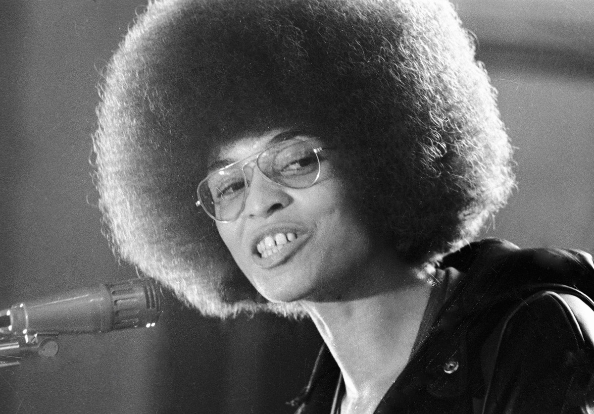 Angela Davis - Activist-turned-professor advocating for radical change in the U.S.