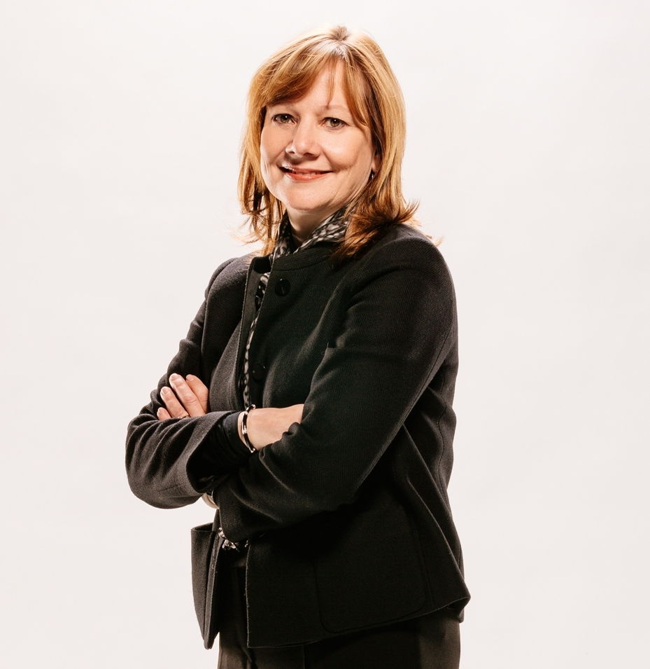 Mary Barra - First female CEO of a major global automaker (General Motors)