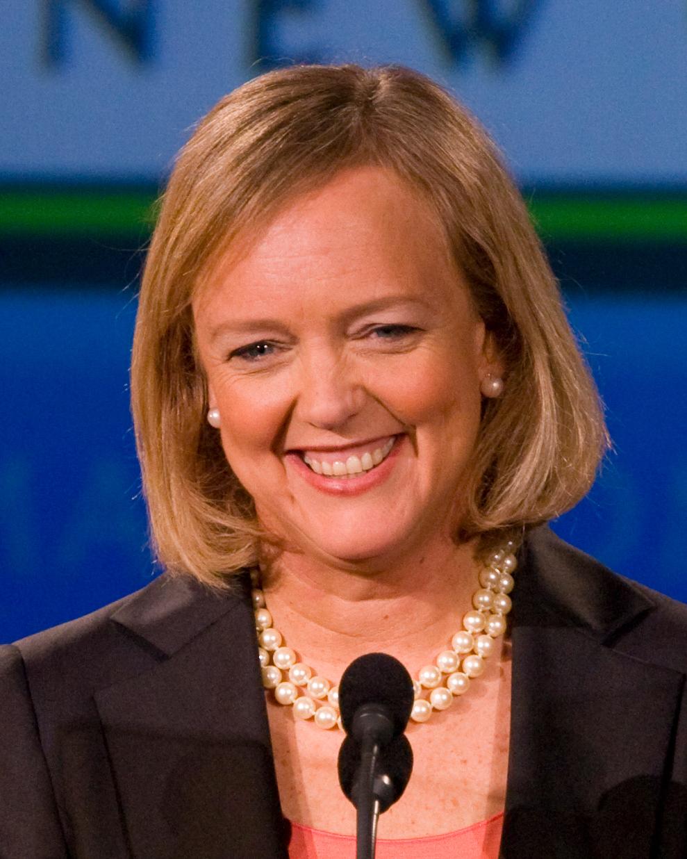 Meg Whitman - Former CEO of Hewlett Packard
