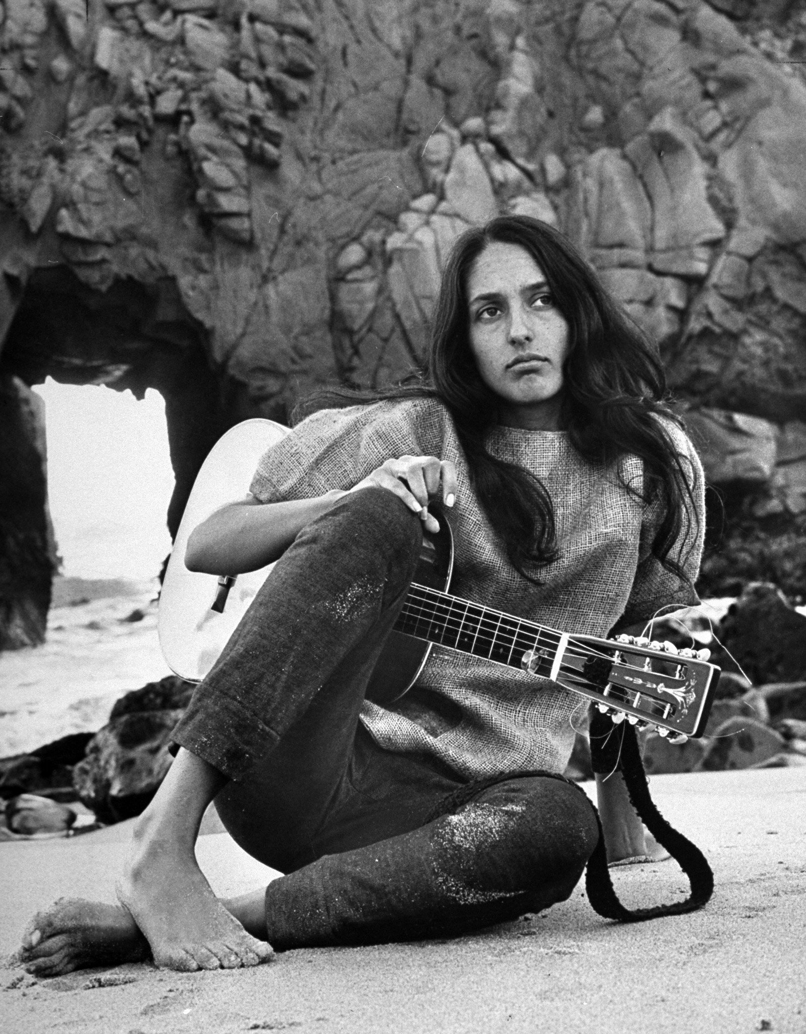 Joan Baez - Award winning folk singer, songwriter, musician, and activist