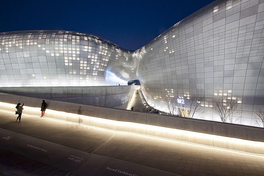 Dongdaemun Design Plaza in Seoul, South Korea, 2014 Photo via Flickr/Creative Commons
