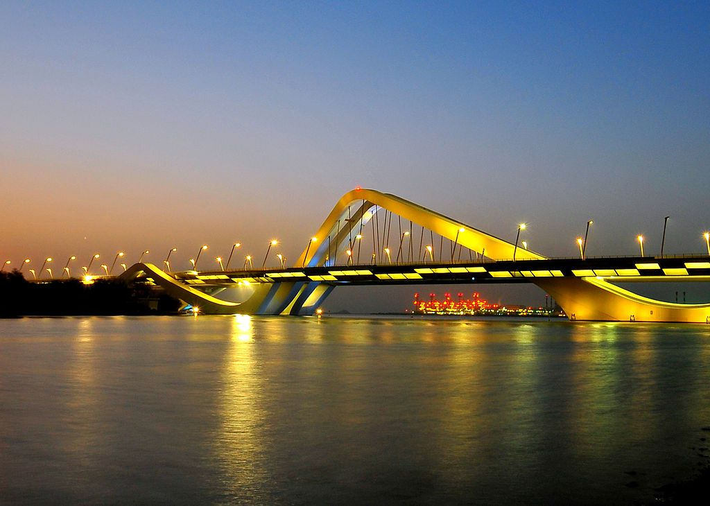 Sheikh Zayed Bridge in Abu Dhabi, United Arab Emirates, 2010— Photo via Creative Commons