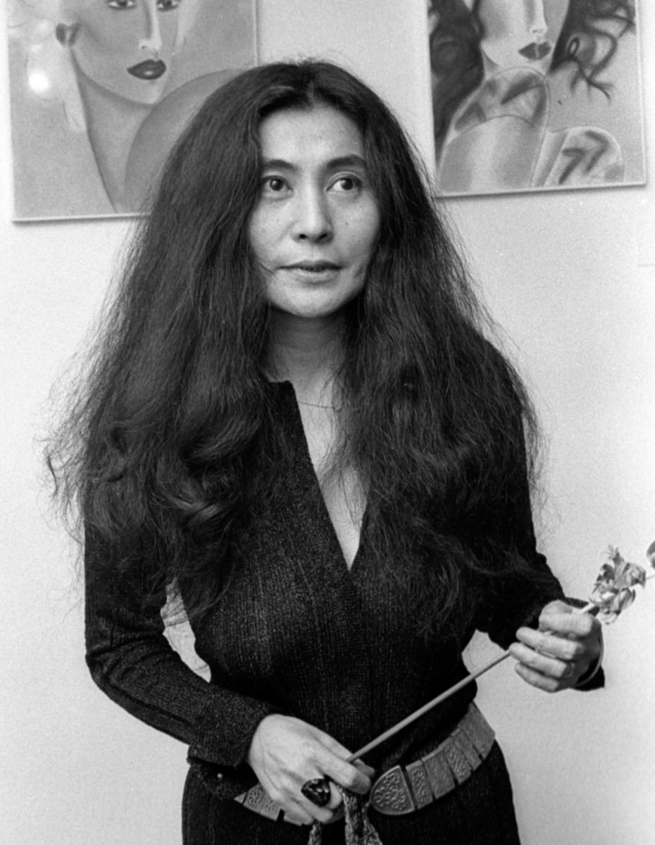 Yoko Ono - Japanese-American artist, singer, songwriter, and peace activist
