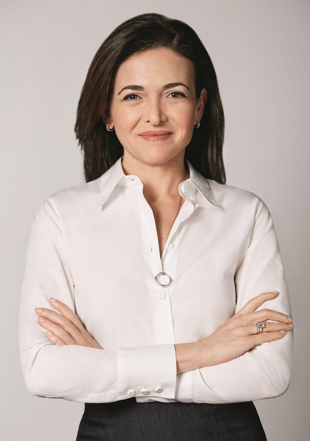 Sheryl Sandberg - COO of Facebook, founder of leanin.org