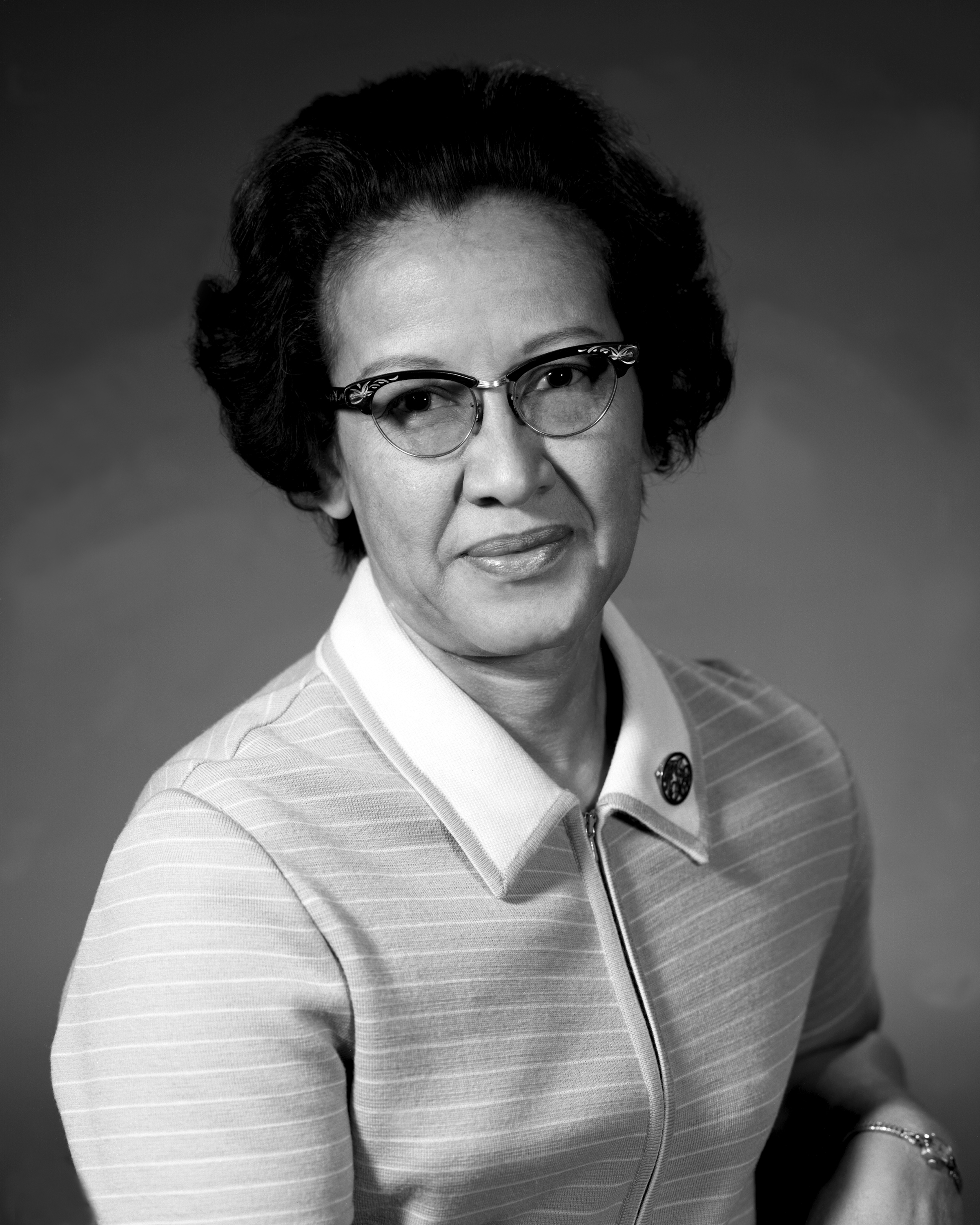 Katherine Johnson - An African-American mathematician who worked at NASA, and who's life was the focus of the movie Hidden Figures