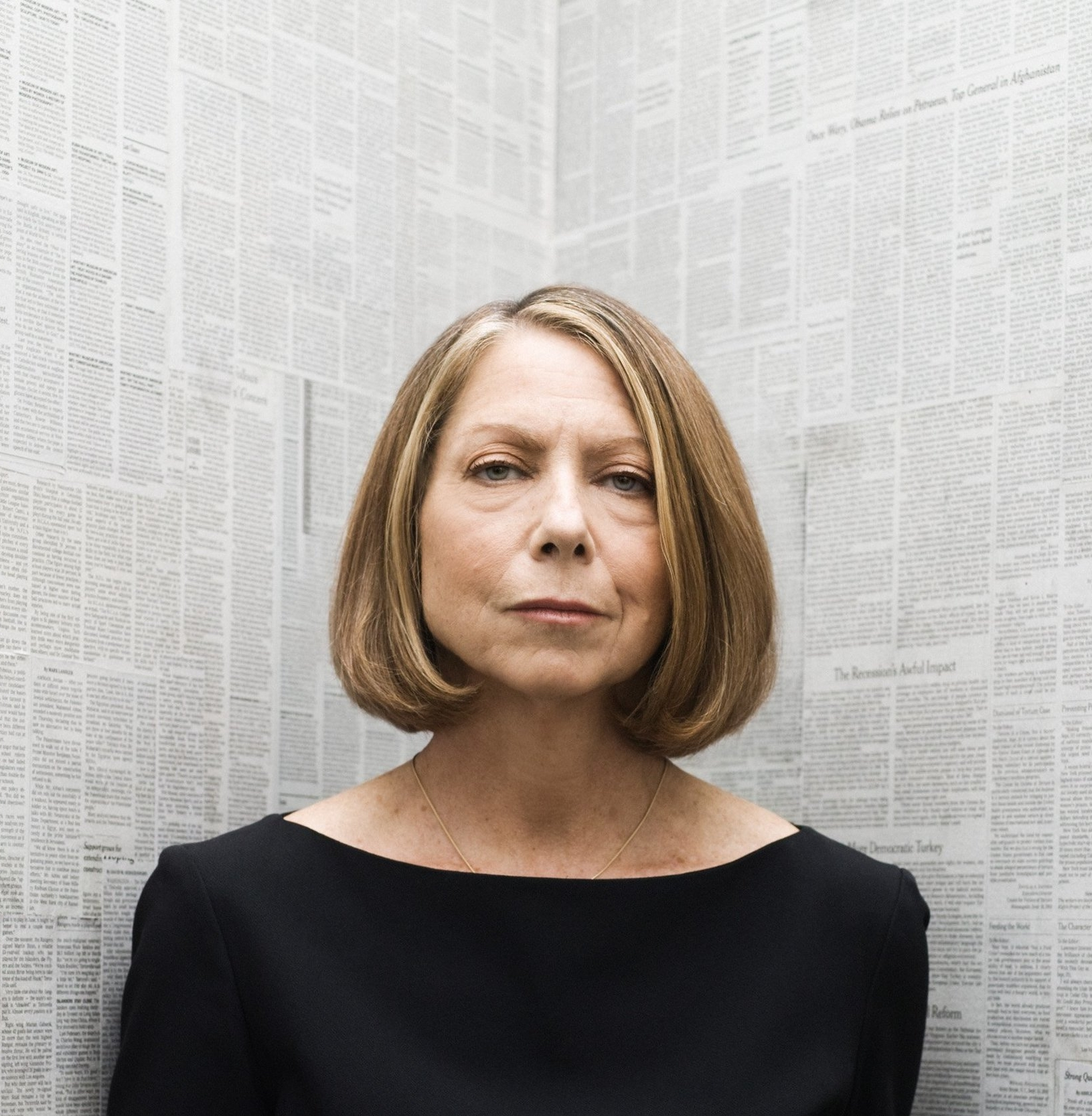 Jill Abramson - First female executive editor of The New York Times