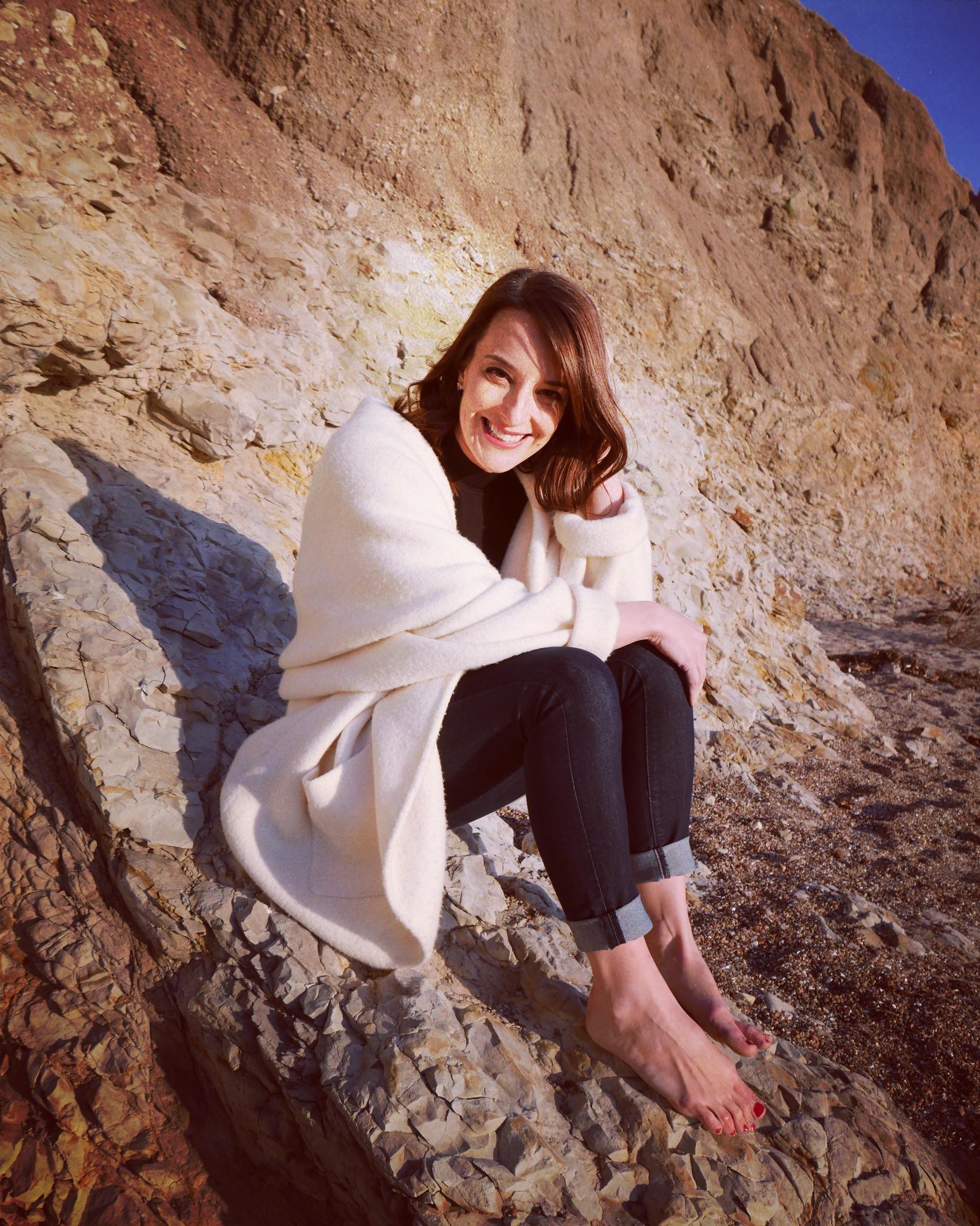 Jenn on Cliff.JPG