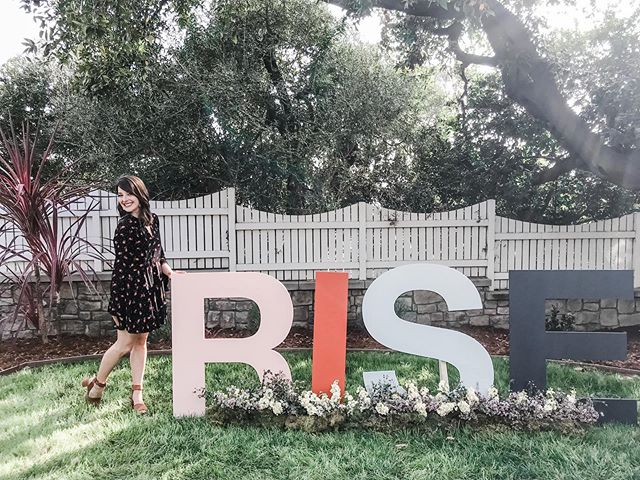 Today, thousands of women will gather in Minneapolis for @msrachelhollis RISE conference. I attended RISE Los Angeles last year, and it was life changing. Not because Rachel's word were so profound but because God primed my heart to receive what HE wanted me to hear.  RISE Minneapolis ladies, God can use this conference in big ways, if you let Him. Soak up the words from the stage, filter them in light of prayer and scripture and go change your corner of the world.  RISE Minneapolis ladies, I'm cheering you on. Wash your face. Stop apologize. But most of all, GO WITH GOD.  PS- There's a post on my experience 1.5 years post- #risexla in my bio.