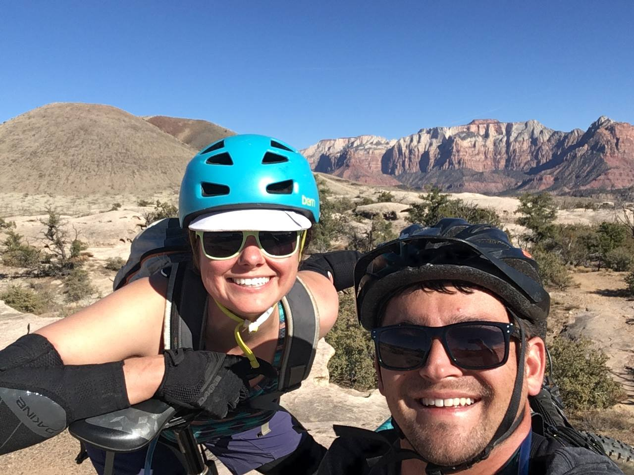 Zion National Park, MTB trip, Mountain biking