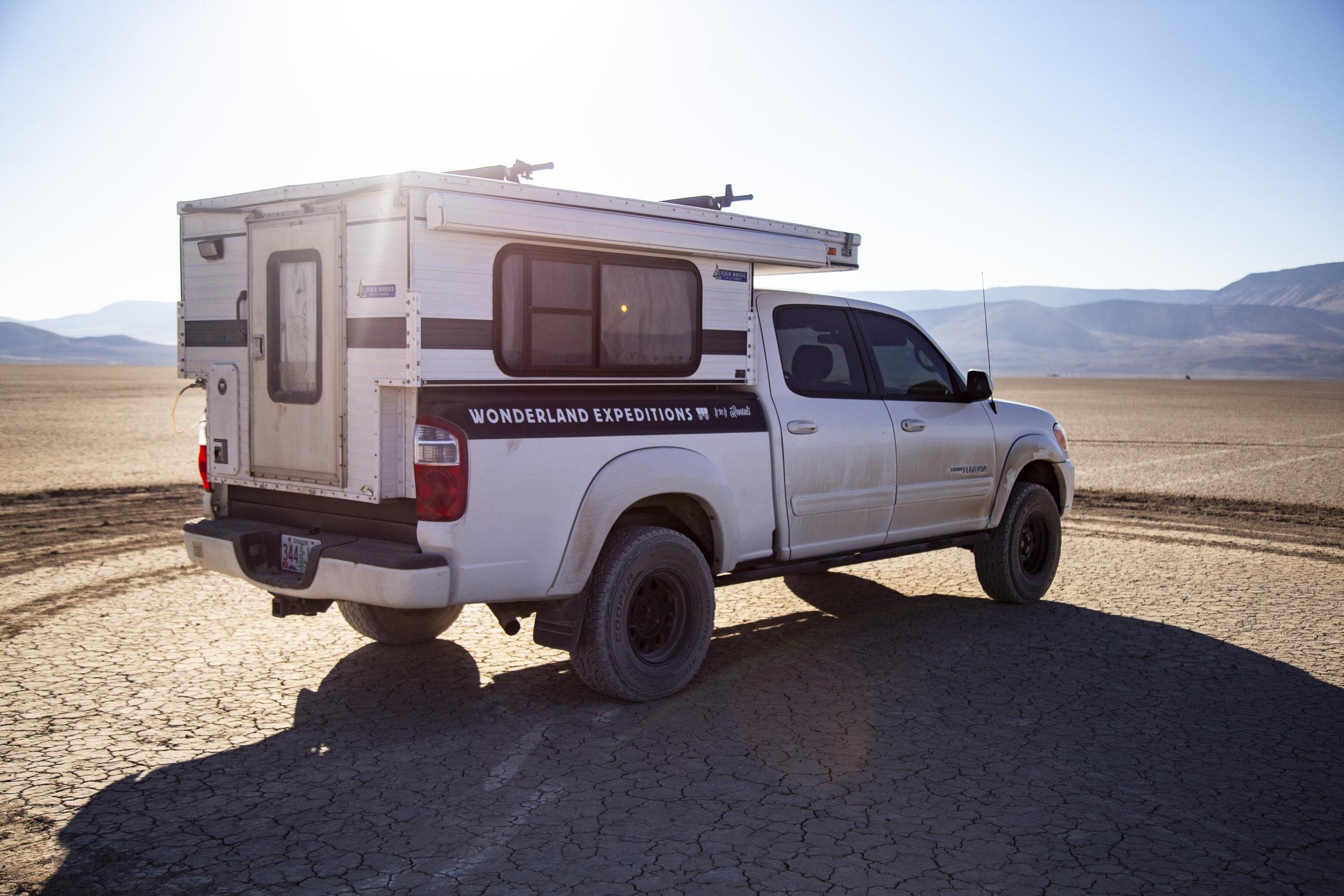 Overland Truck Camper Rental