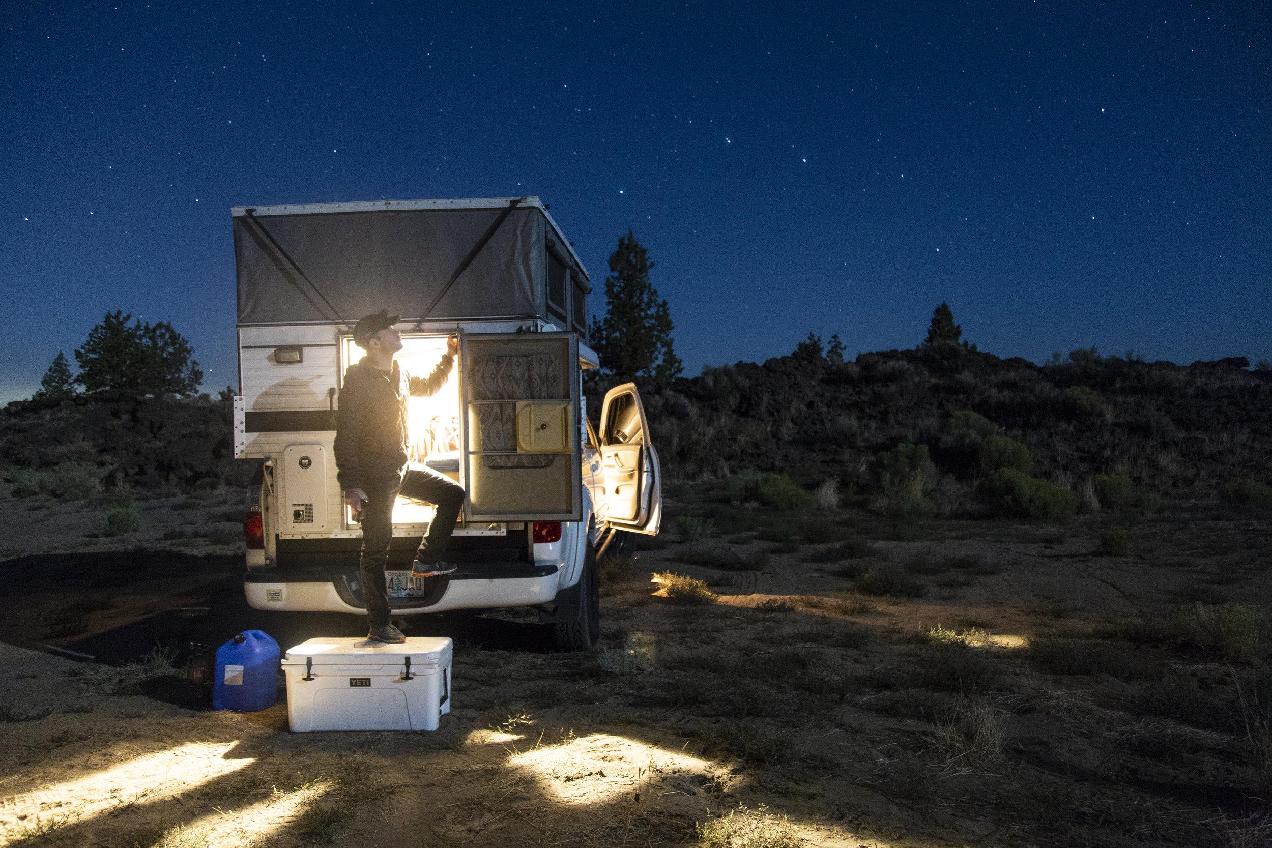 4x4 Toyota Tundra Camper Rentals Four Wheel Camper