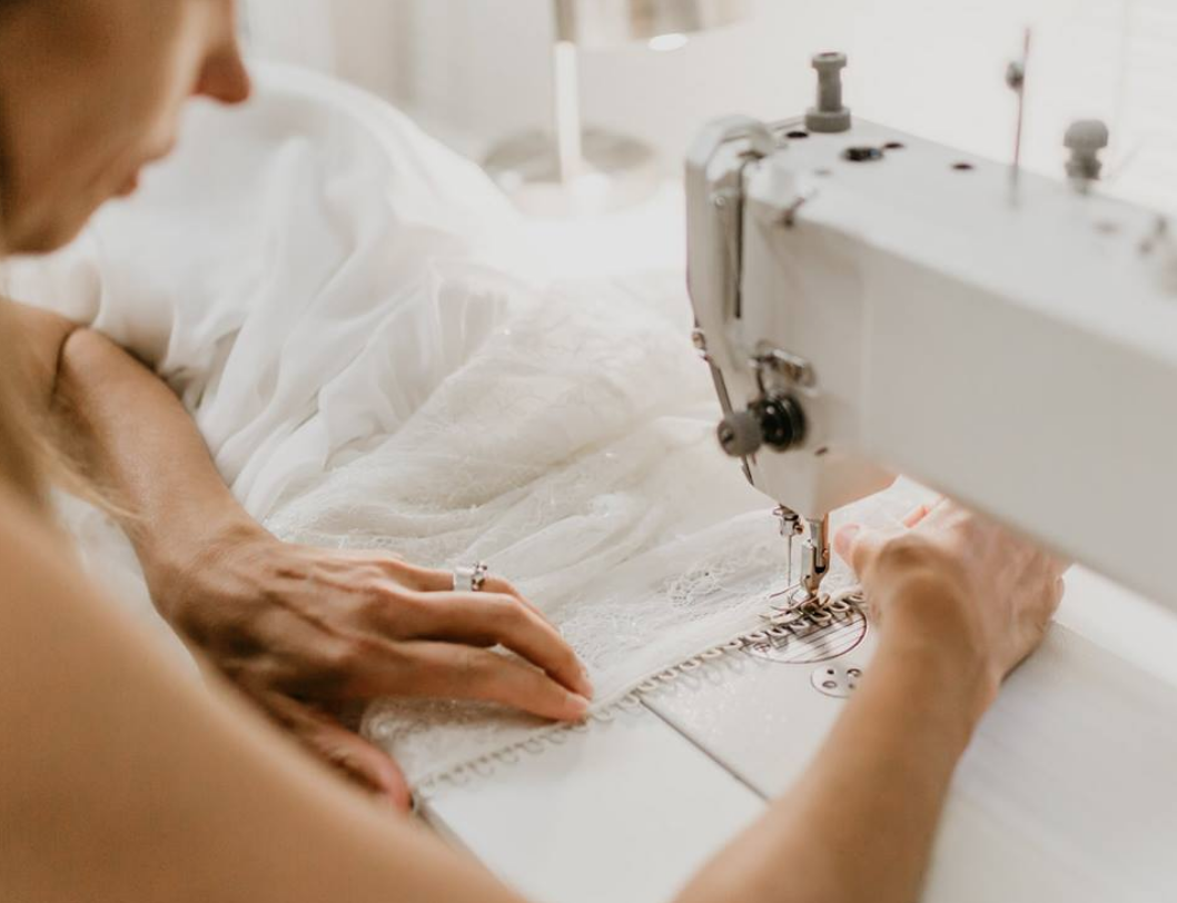 atelier - 'Daci Gowns' bridal atelier is where your wedding dress dreams come true. The atelier shares the same space with the boutique showroom. You will get to see how dresses are made from scratch, design process to the final product.