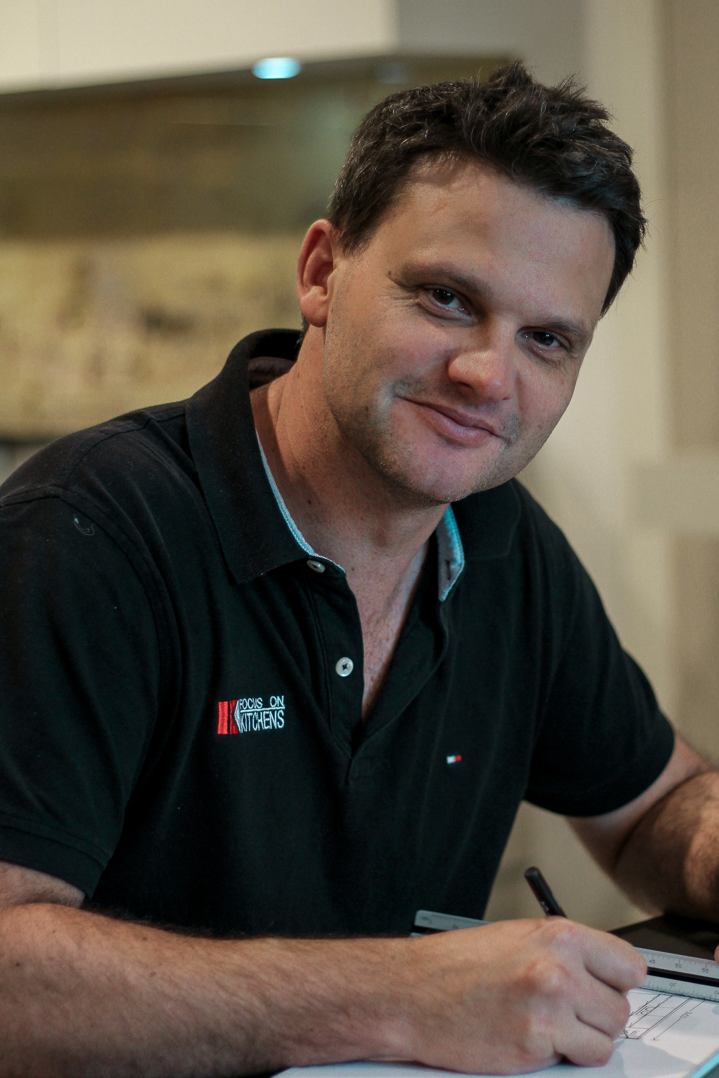Craig Pukallus- Director - Owner & Co-Director Craig started his cabinet making career at Focus on Kitchens over 20 years ago. Craig will be one of your first contacts as he helps you with designing your new joinery. His main aim is to work closely with you, bringing your cabinetry visions to life.