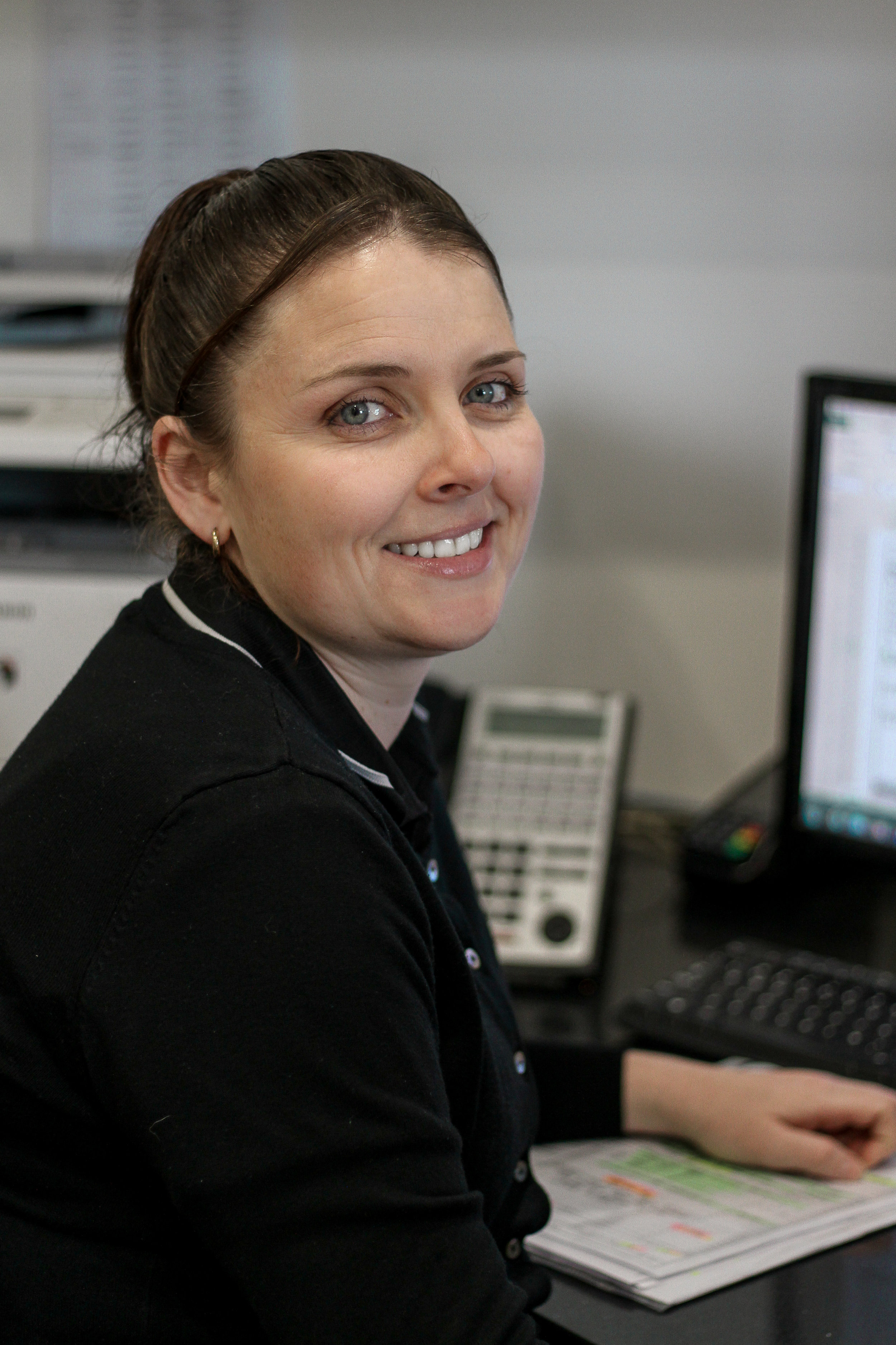 Amanda James- Receptionist - Amanda is the first friendly face you see when you visit our showroom and the helpful voice on the other end of the phone. Amanda's experience in business administration has been a huge asset to our company over the last few years