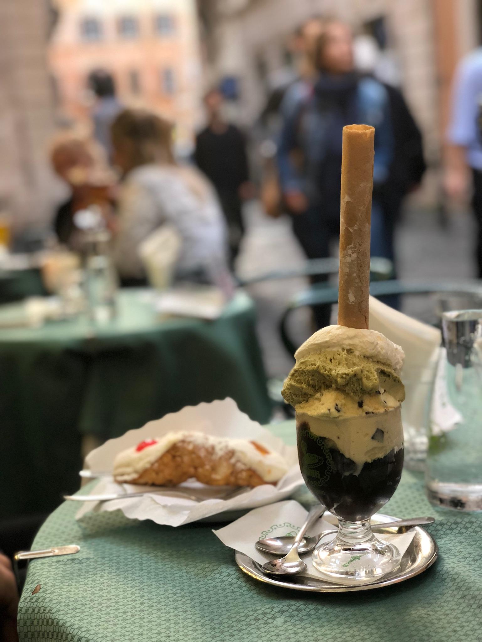 Gelato at Giolitti