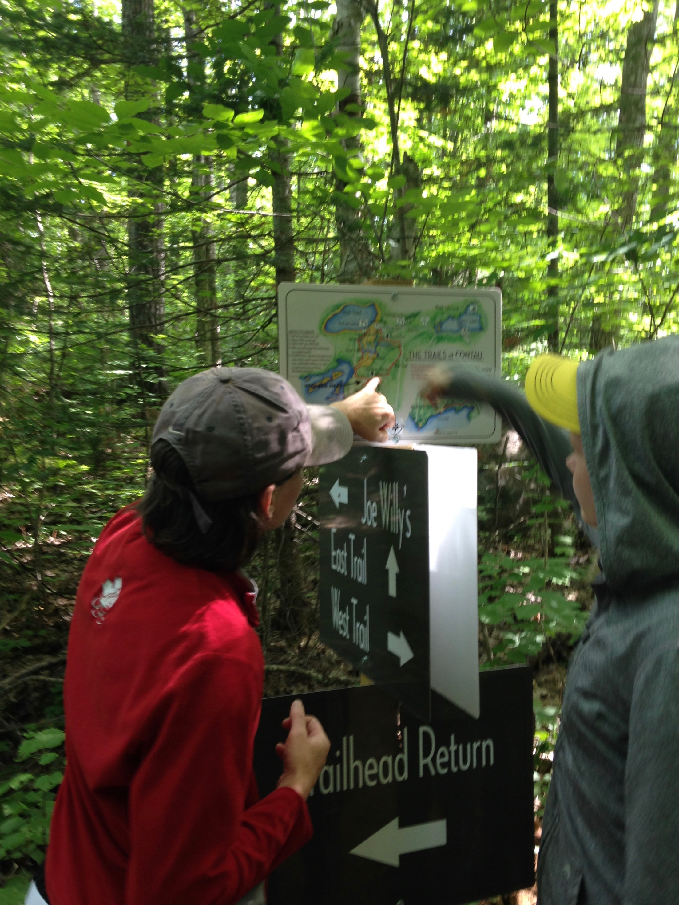Navigating Our Extensive Trail Network at The Bear Stand
