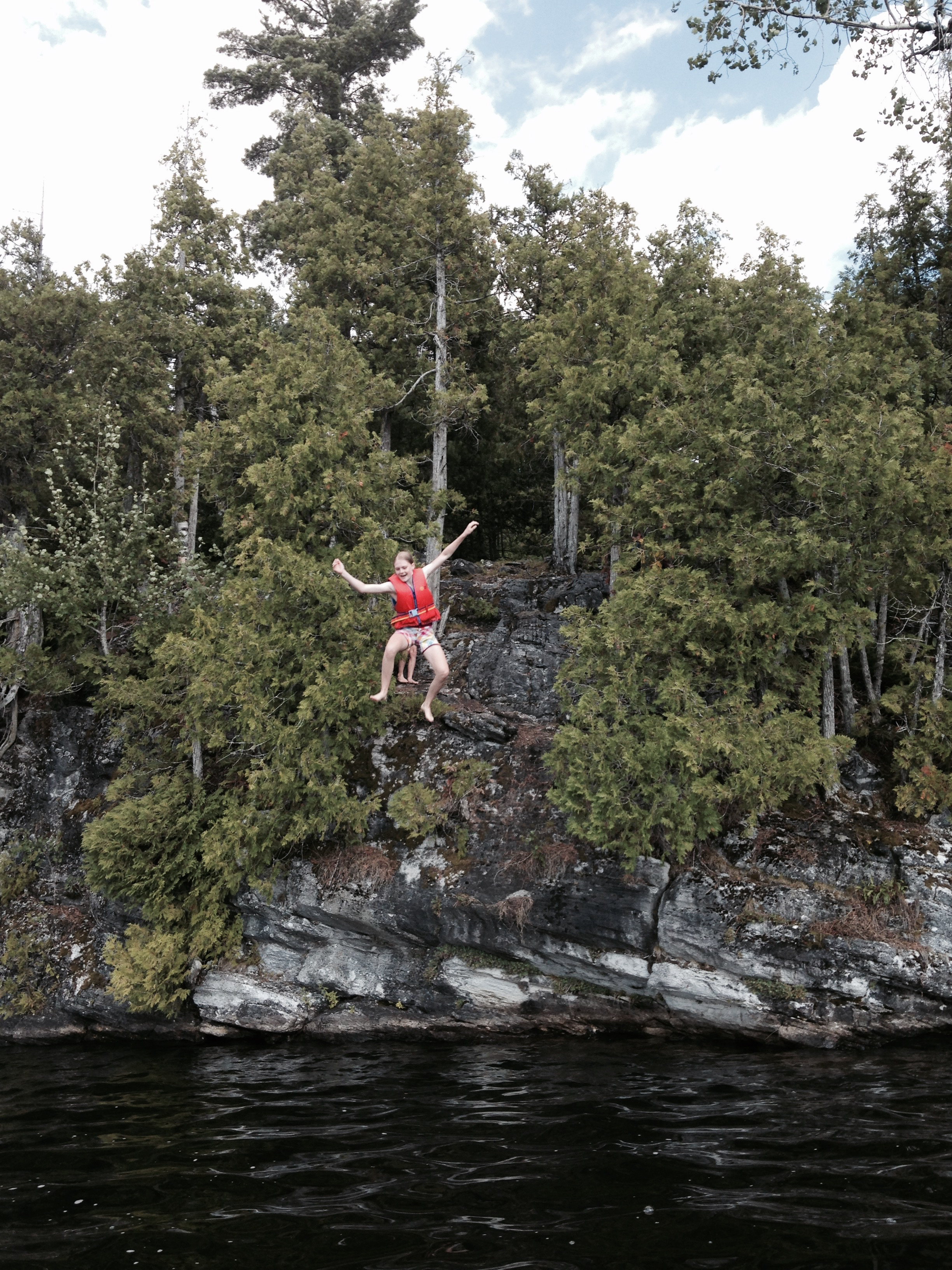 Summer Fun Begins with Rock Jumping!