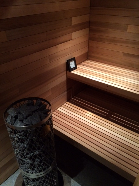 The Finnish Sauna at The Bear Stand