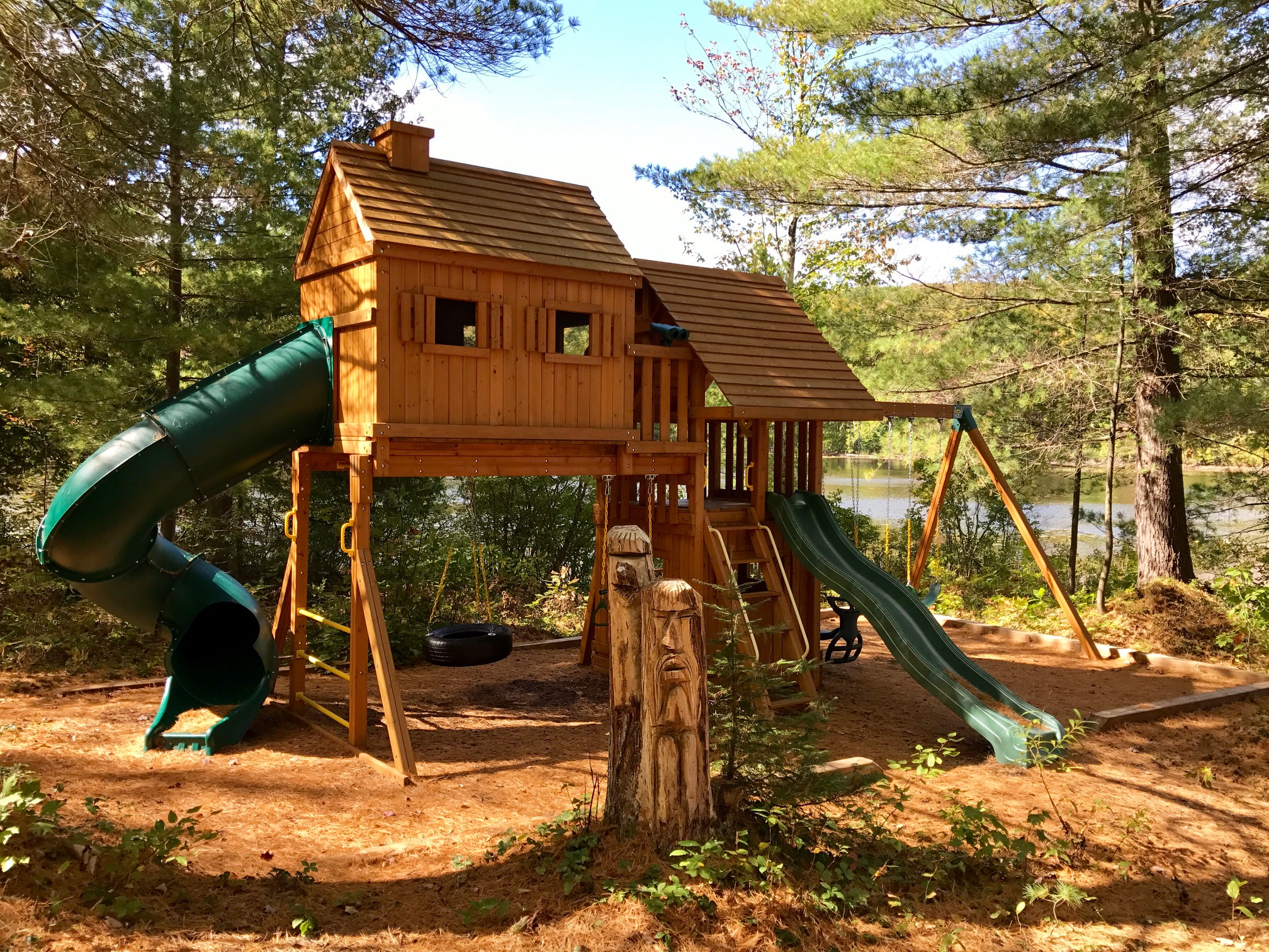 The Playhouse at The Bear Stand - a Kid's Dream Come True