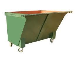 Copy of 1500L Metal Garbage Bin