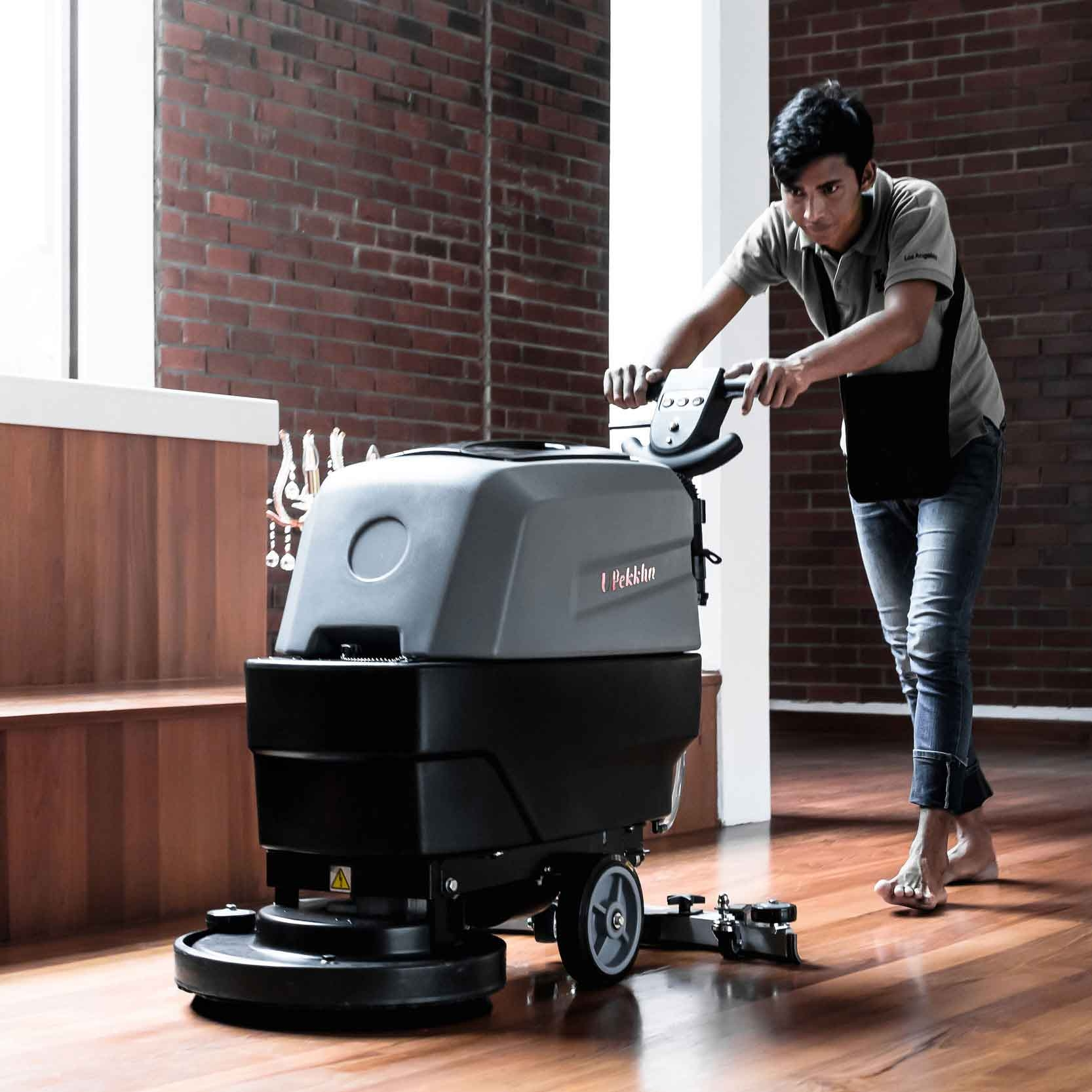 Upekkha™ Cleaning Equipment Automatic Scrubber Dryer Supplier Penang Malaysia
