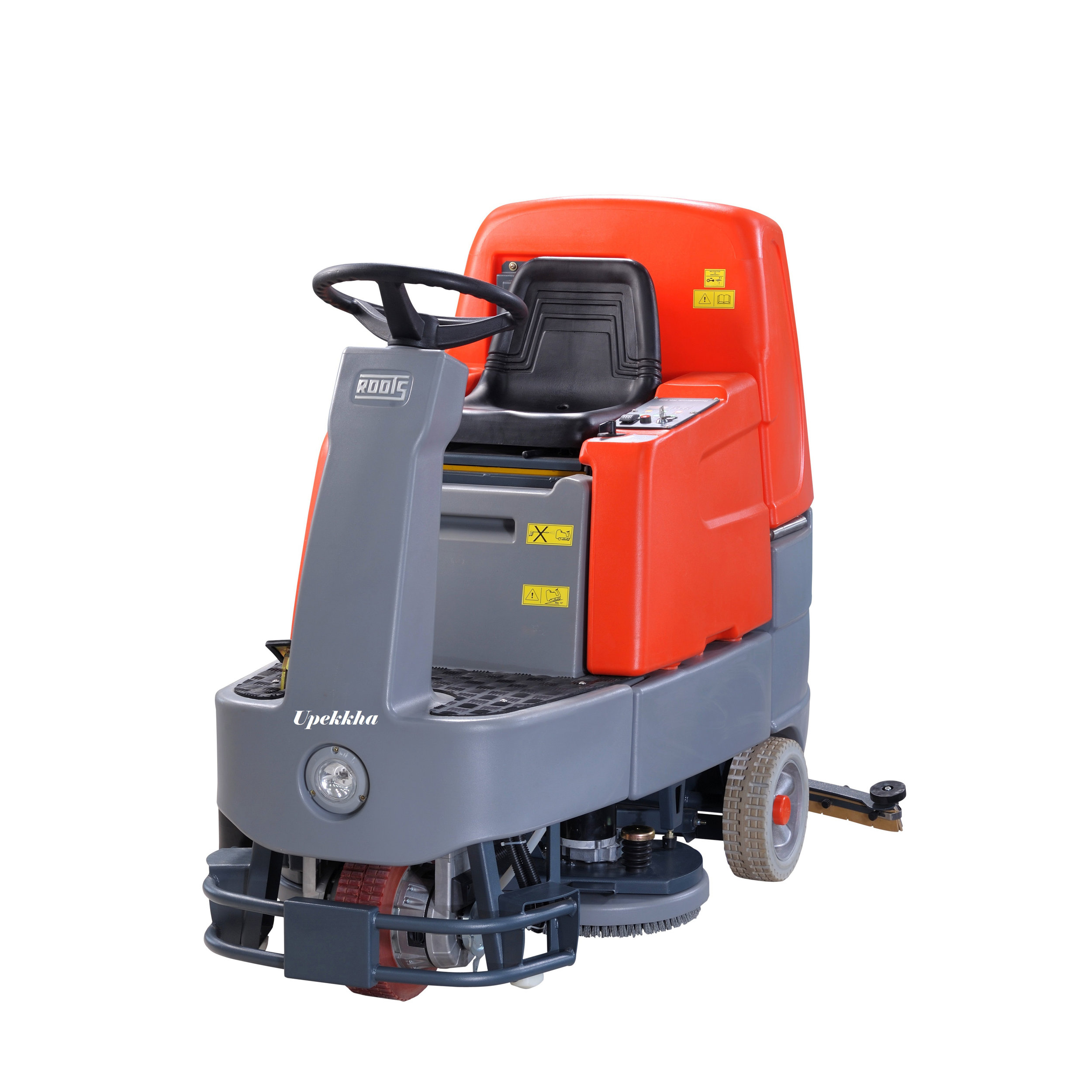 Battery Operated Ride On Automatic Floor Scrubber Dryer
