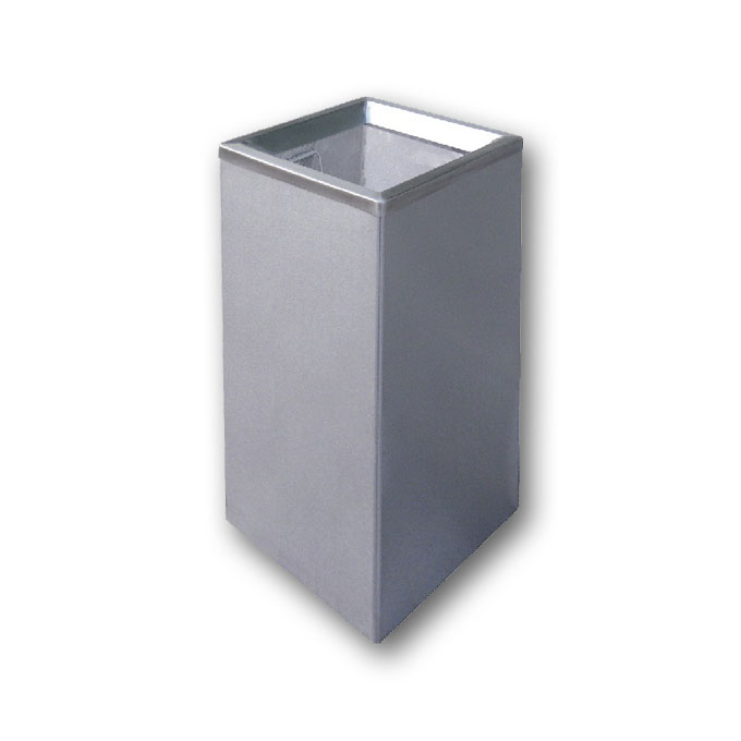 Stainless Steel Square Open Top Bin