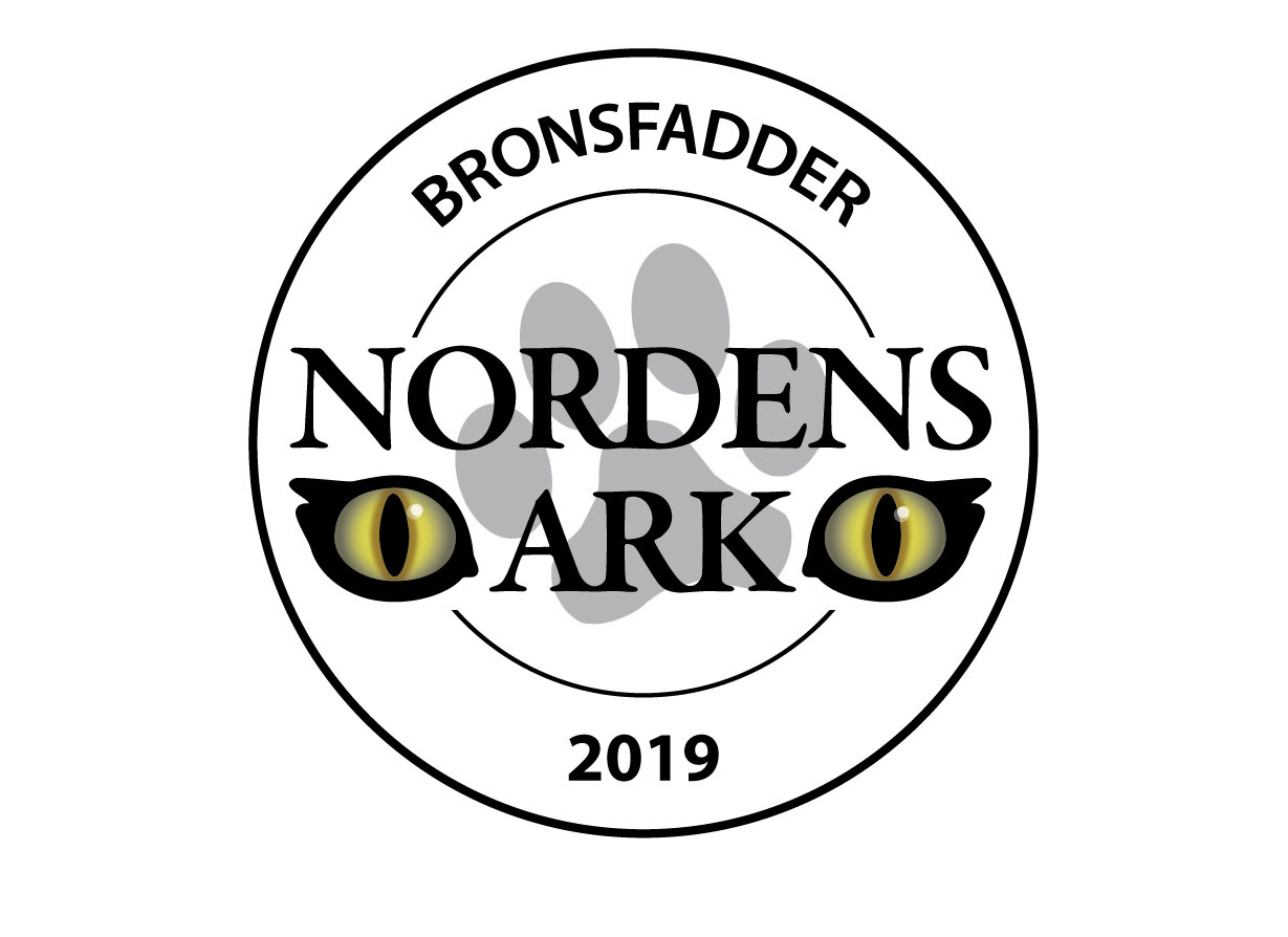 Badge awarded to Peregrine AB by Nordens Ark for being a program sponsor