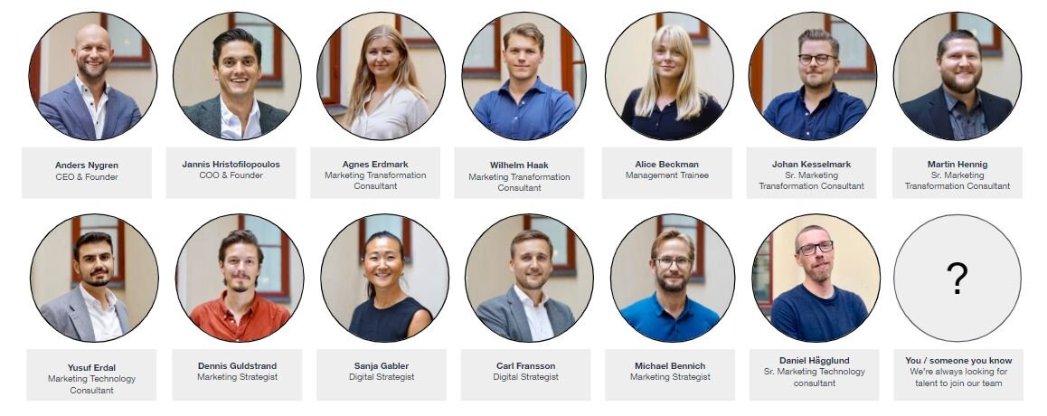 Peregrine team Q3 2019 - for career opportunities, see current vacancies here: https://www.peregrine.se/working-at-peregrine