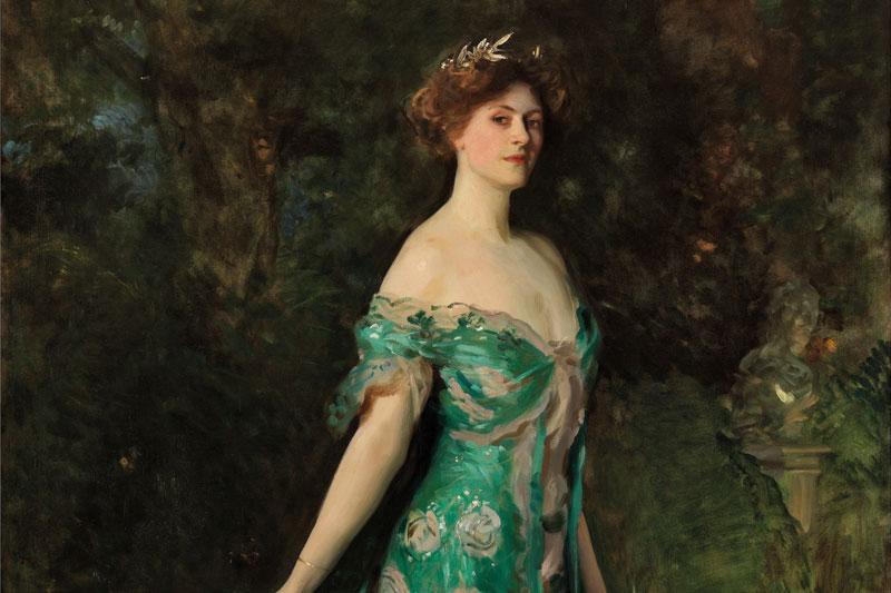 John Singer Sargent, Retrato de Millicent, duquesa de Sutherland 1904 ©Museo Nacional Thyssen-Bornemisza, Madrid