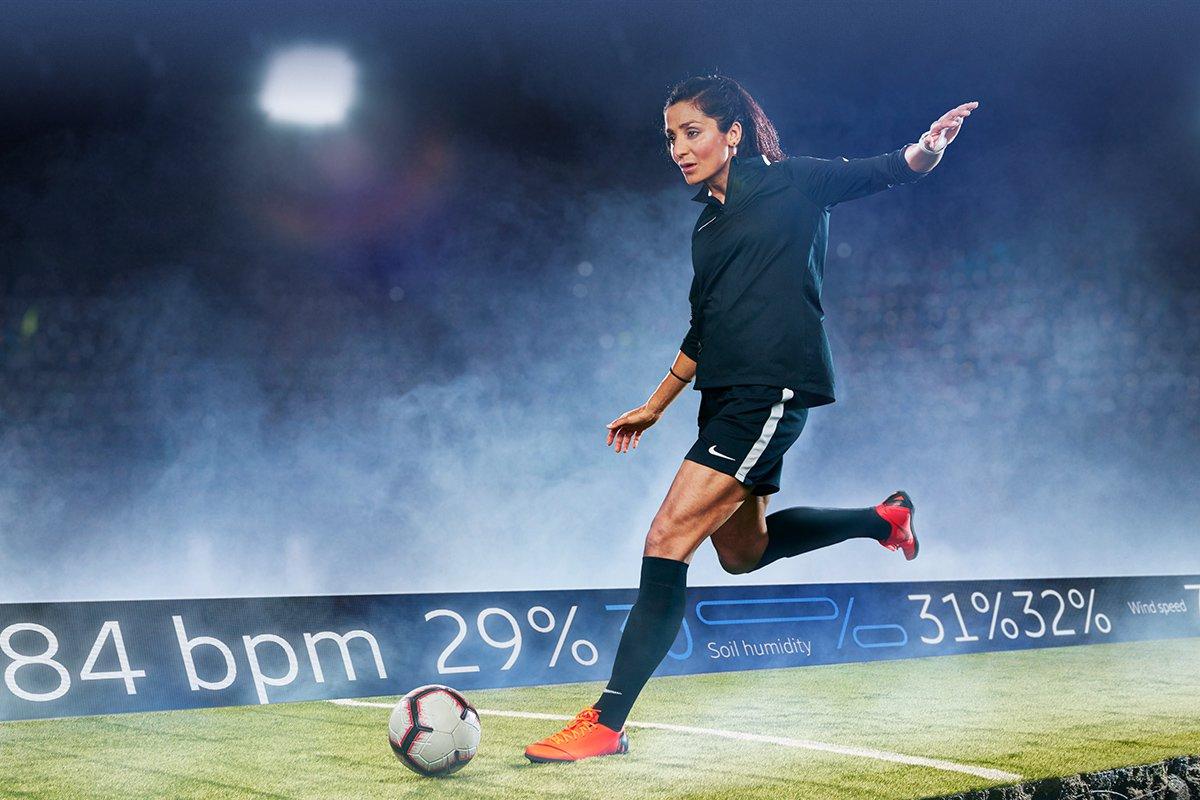 Pro footballer / PSG striker, Nadia Nadim