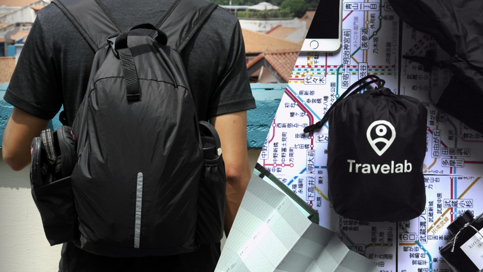 Freedom Pack | The First Packable Anti-Theft Travel Backpack  - $103,576 Raised |1,516 Backers
