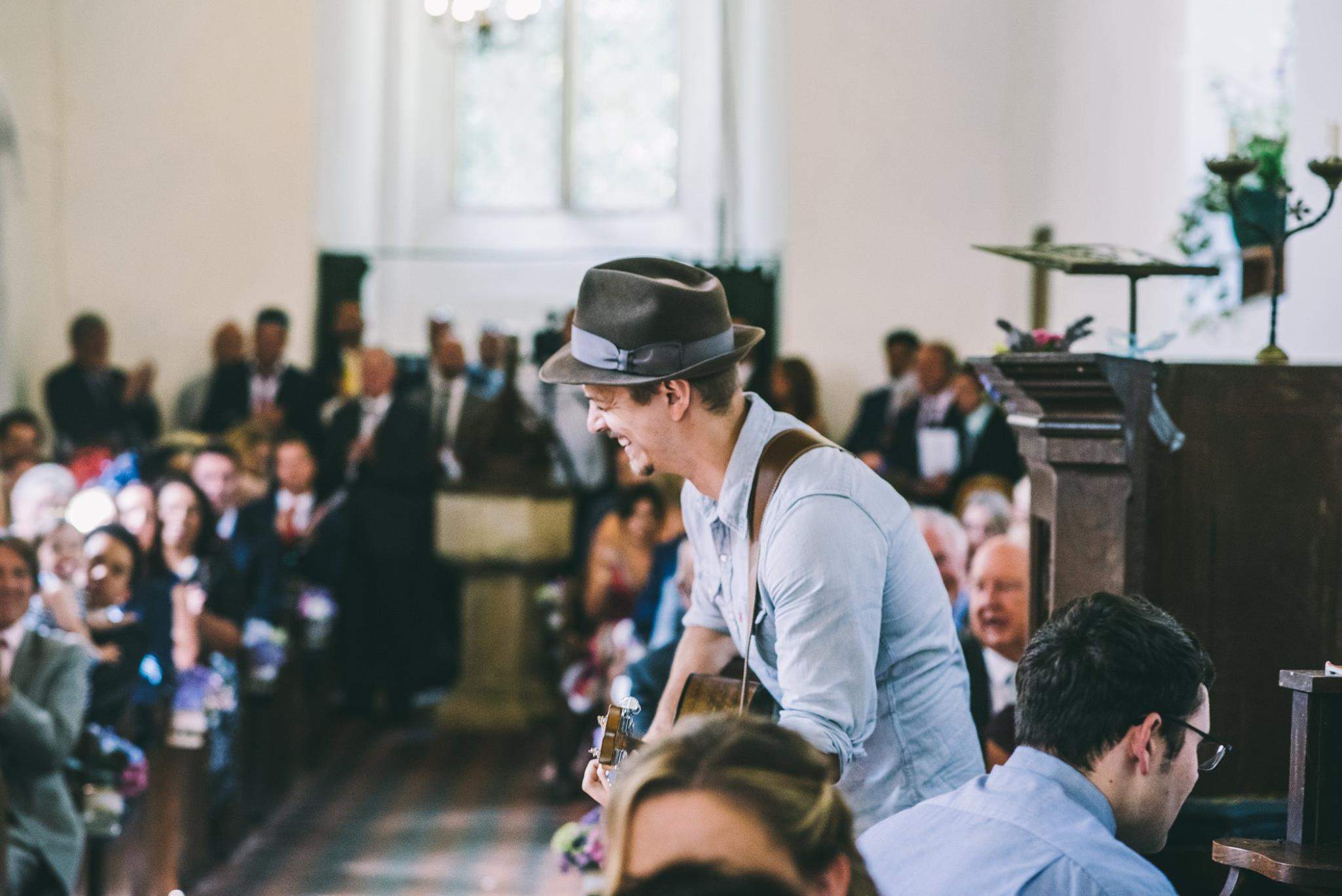 Live acoustic wedding music - Surrey 1