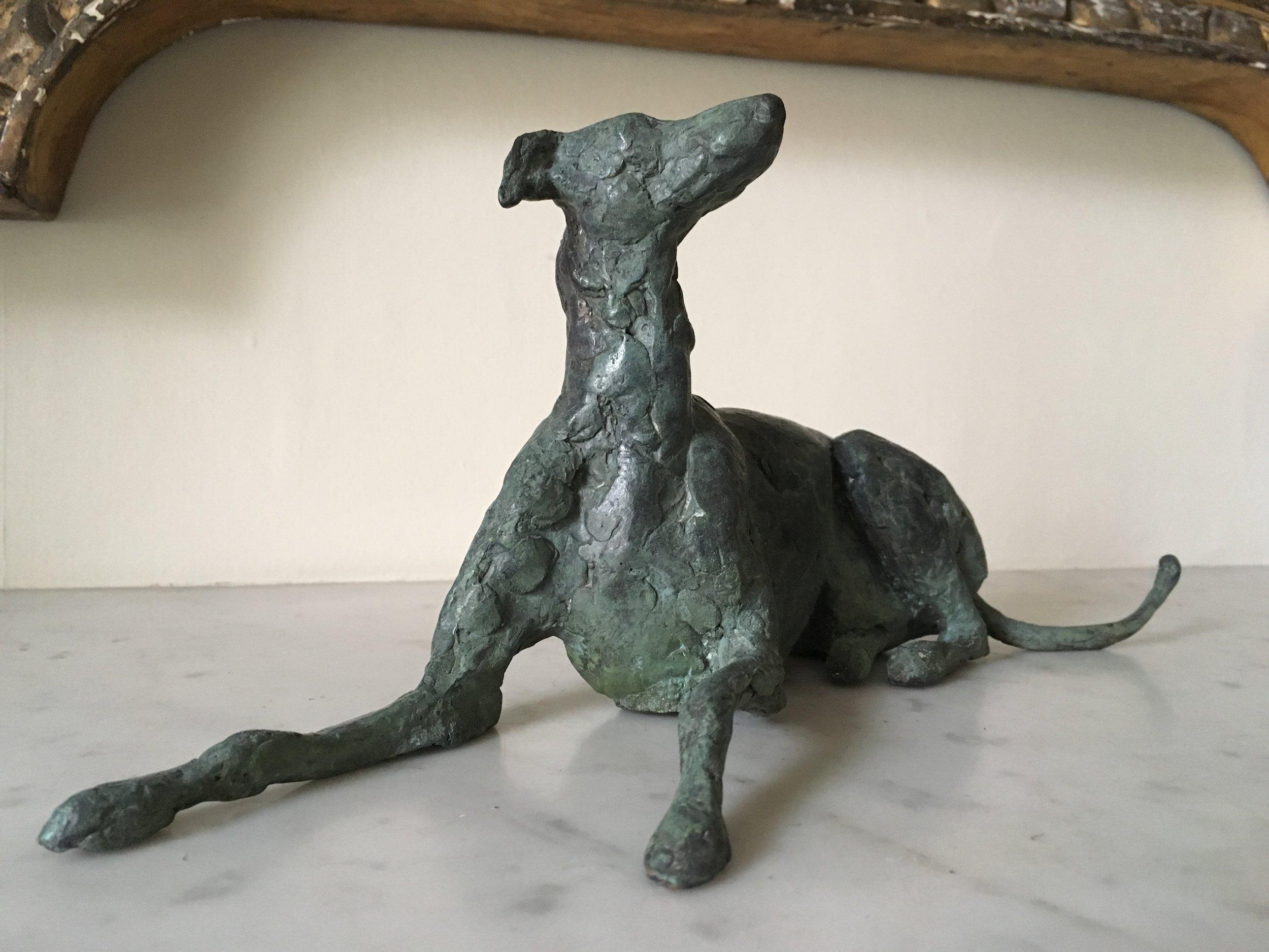 Bronze, Whippet. 7x6 inch (3).jpg