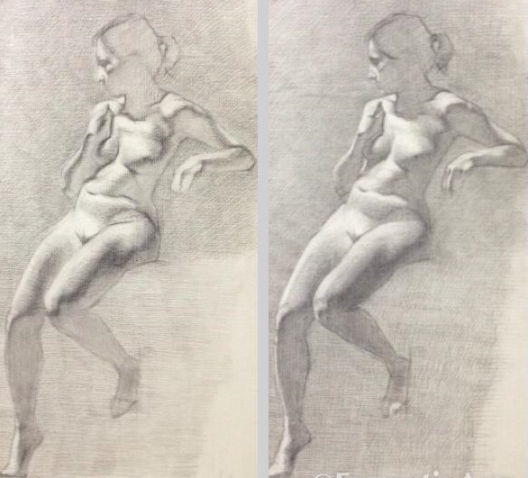 Progression of Reclining female.jpg