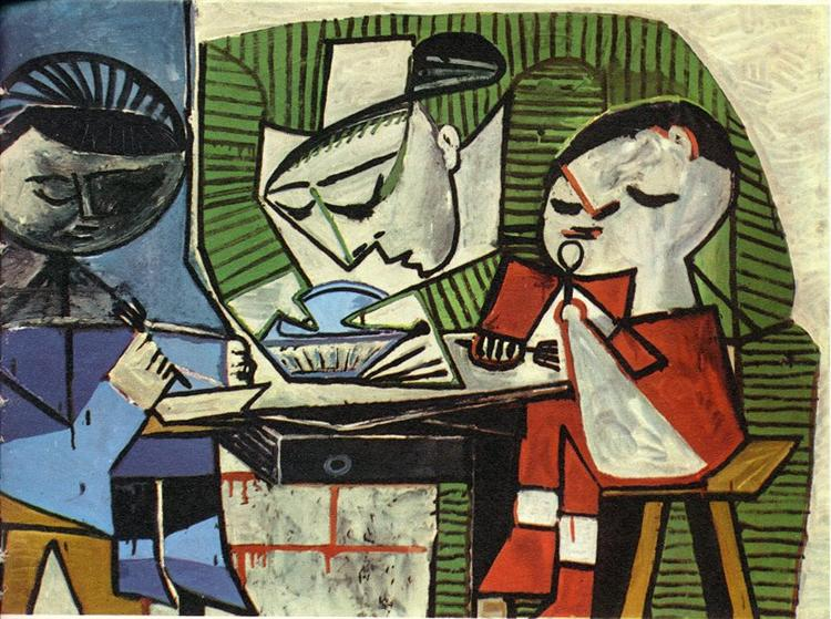 Picasso's 'Breakfast 1953'