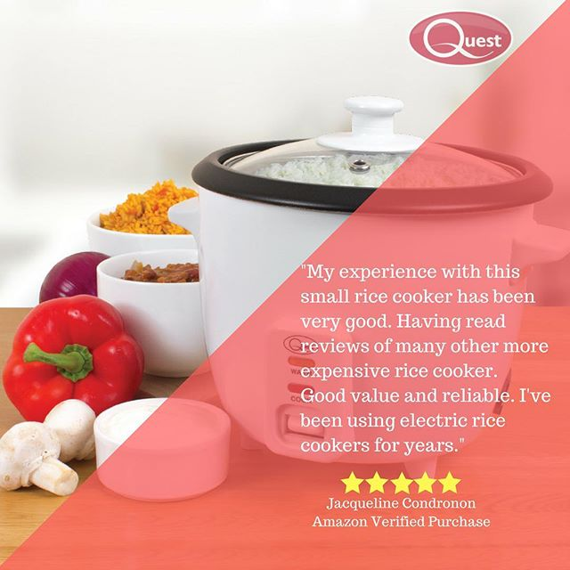 Happy to read the feedback from Jacqueline on Amazon! #Happycustomer #reviews #questappliances #instagood #healthychoices #thankfulthursday