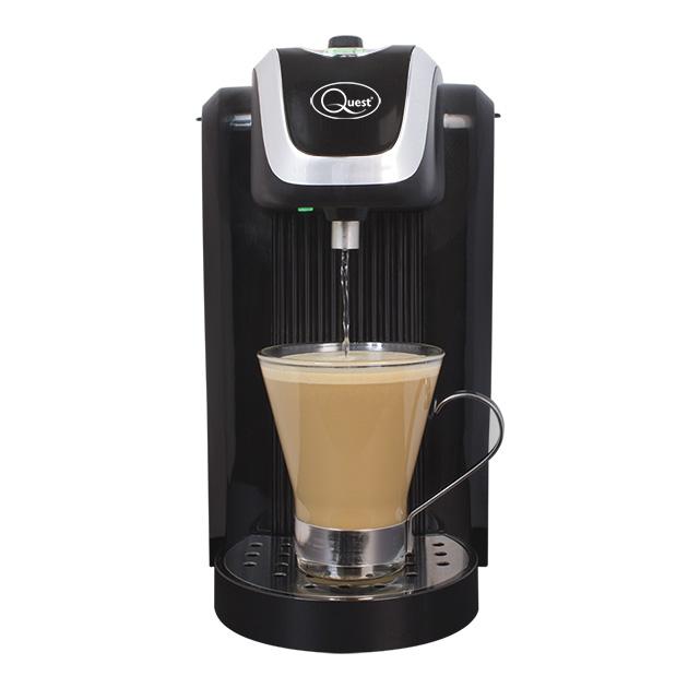 Instant hot water dispenser (black)
