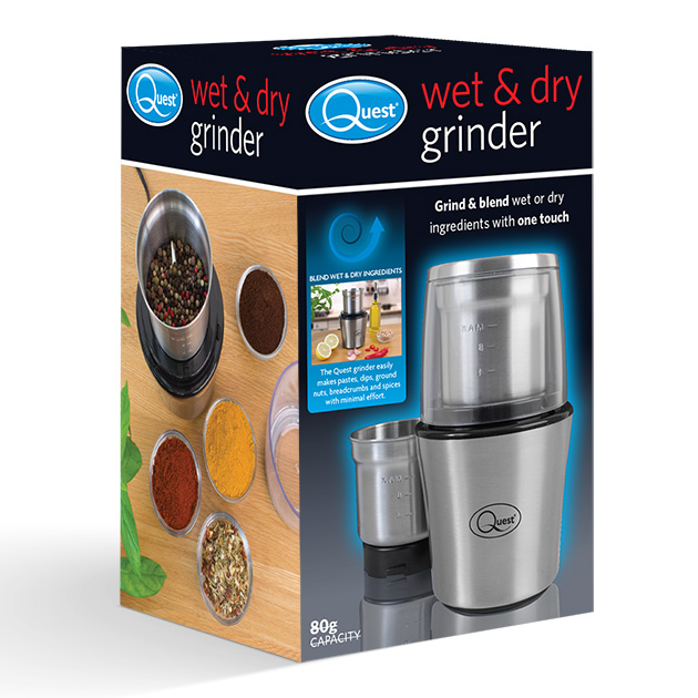 Wet and dry grinder box