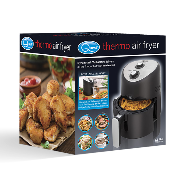 2.5L Thermo Air Fryer box