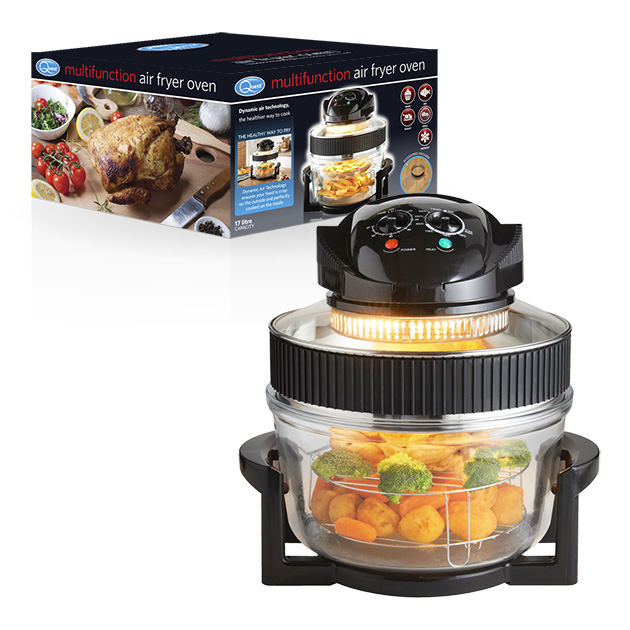 Multifunction Air Fryer Oven and box