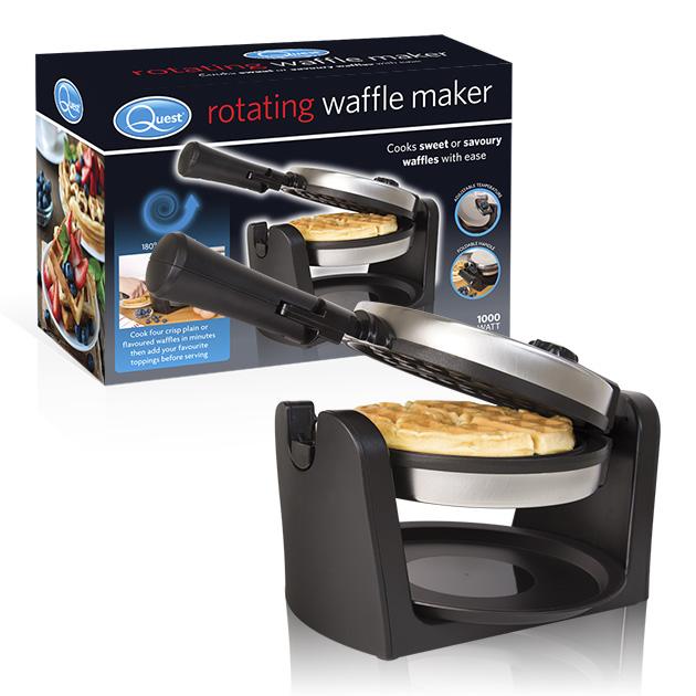 Rotating Waffle Maker and box