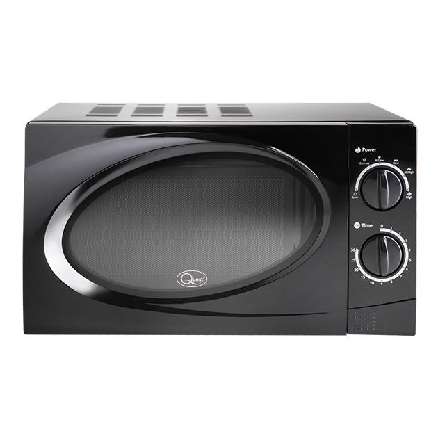 Black 20L Classic Microwave
