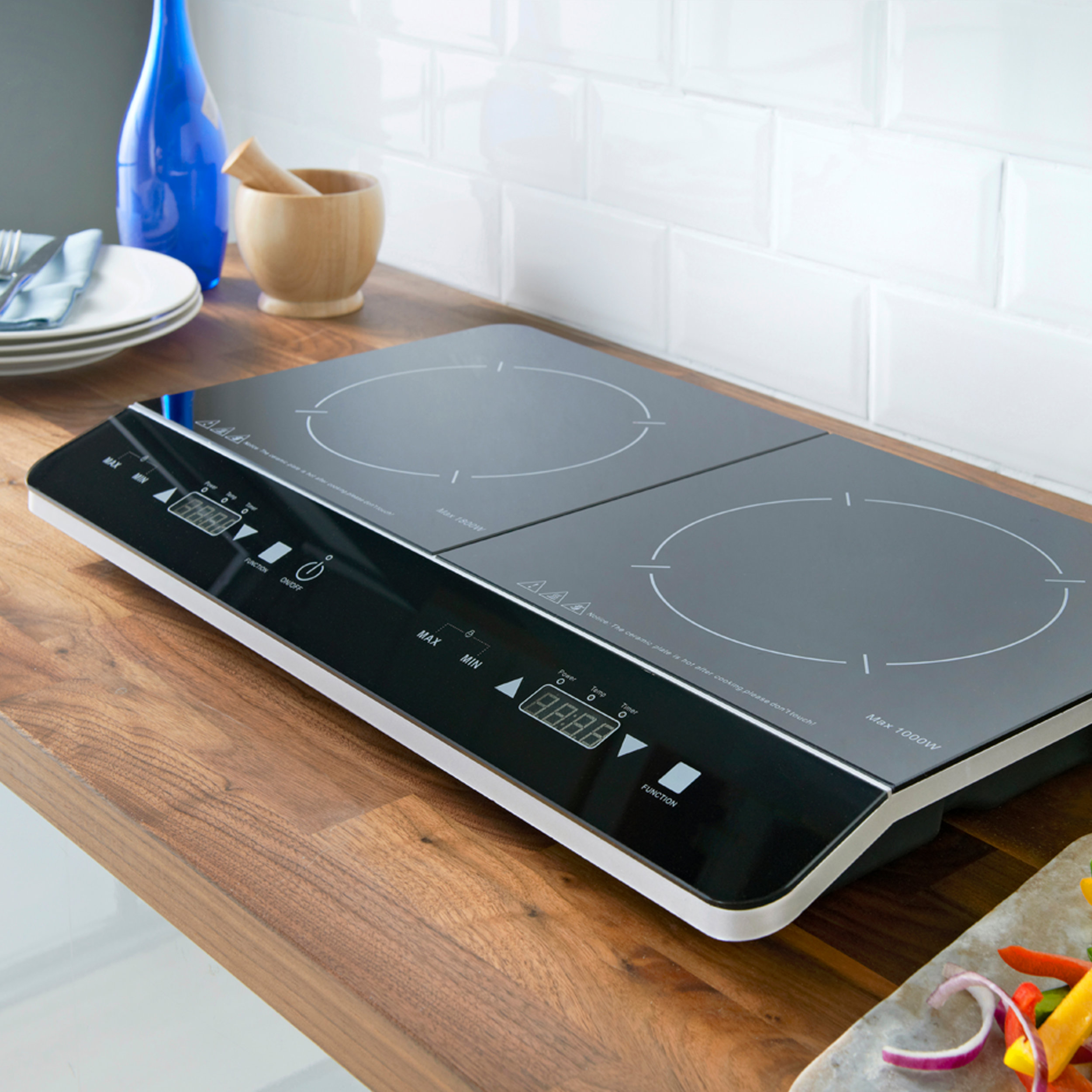 Double Digital Induction in the kitchen