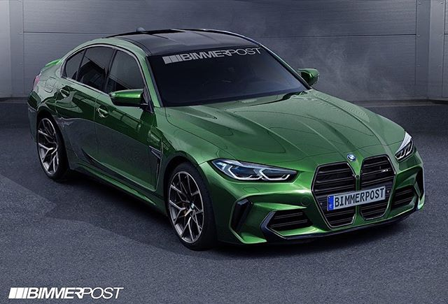 Here's what the G80 M3 will look like.. thoughts? #m3 #bmw #msport #instacar
